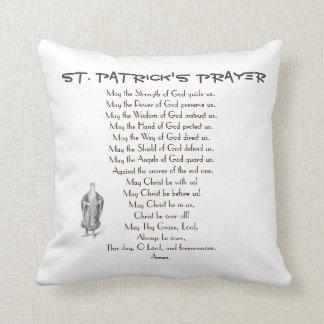 ST. PATRICK'S PRAYER CUSHION