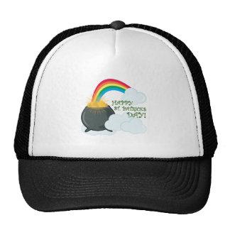 St. Patricks Rainbow Hats