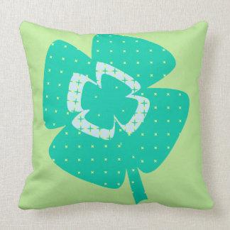 St. Patrick's Shamrock Cushion