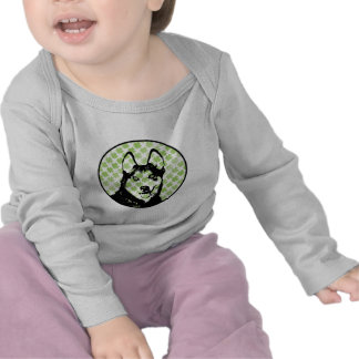 St Patricks - Siberian Husky Silhouette Shirt