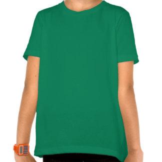 St Patricks - Siberian Husky Silhouette Tshirt