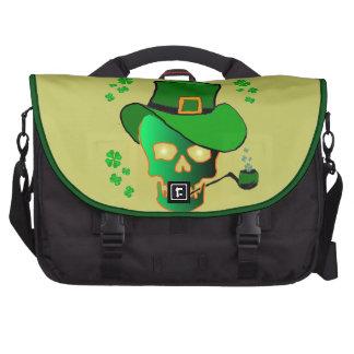 St Patricks Skull Laptop Commuter Bag