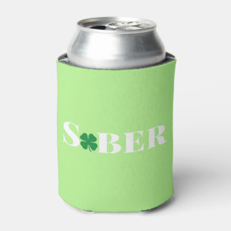 St. Patrick's Sober Can Cooler