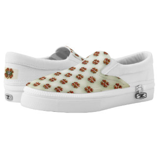 St. Patrick's Sparkly Shamrock Printed Shoes