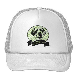 St Patricks - St Bernard Silhouette Trucker Hats