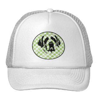 St Patricks - St Bernard Silhouette Hat