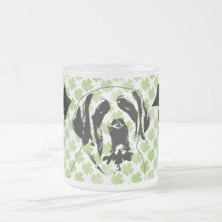 St Patricks - St Bernard Silhouette Coffee Mugs