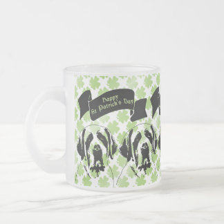 St Patricks - St Bernard Silhouette Mug