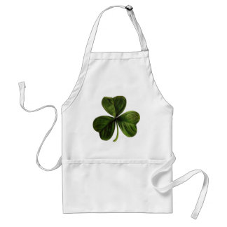 St. Patrick's Three Leaf Clover Aprons