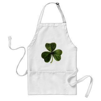 St. Patrick's Three Leaf Clover Standard Apron