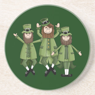 St Pats Dance Beverage Coaster