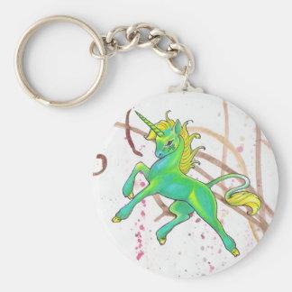 St. Pat's Unicorn Keychain