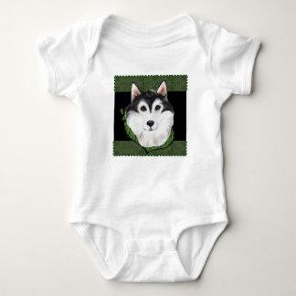 ST PATTY  Alaskan Malamute Baby Bodysuit