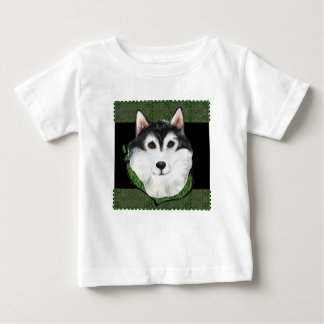 ST PATTY  Alaskan Malamute Baby T-Shirt