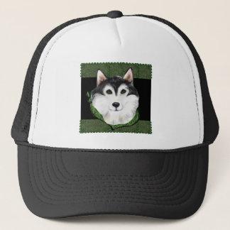 ST PATTY  Alaskan Malamute Trucker Hat