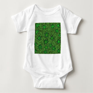 St. Patty Art Design Baby Bodysuit