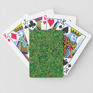 St. Patty Art Design Bicycle Playing Cards