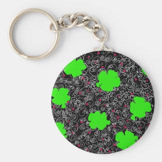 St. Patty Art Key Ring
