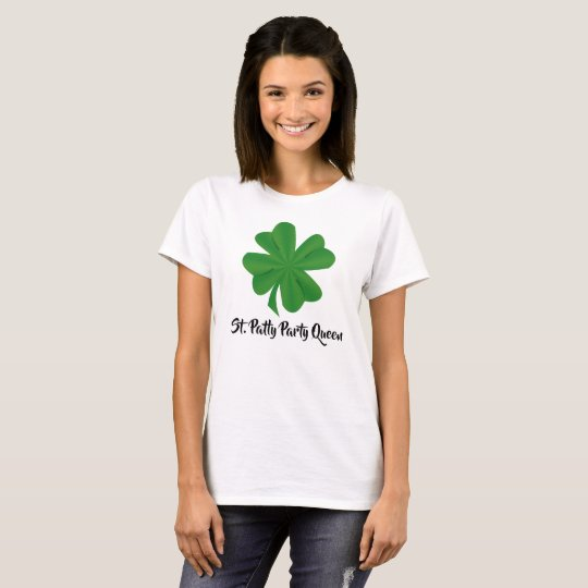 St. Patty Party Queen Women's Basic T-Shirt