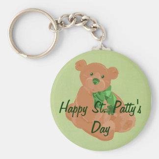 St Patty s Day Bear Keychain