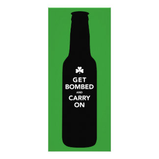 St Patty s Day Invitation - Get Bombed Carry On
