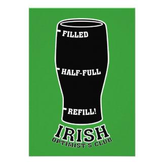 St Patty s Day Invitation - Irish Optimists Club