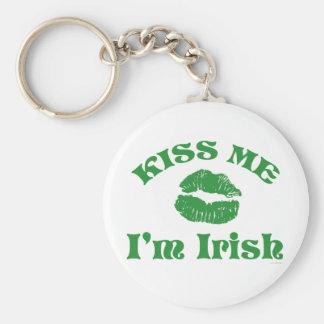 St Patty s Day Kiss Me I m Irish Keychain