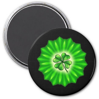 ST PATTYS DAY 7.5 CM ROUND MAGNET