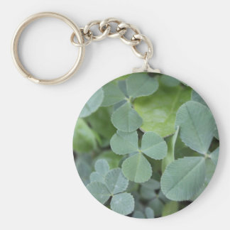 St Pattys Day Clover Mix Keychains