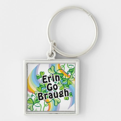 St. Patty's Day Erin Go Braugh Key Chain