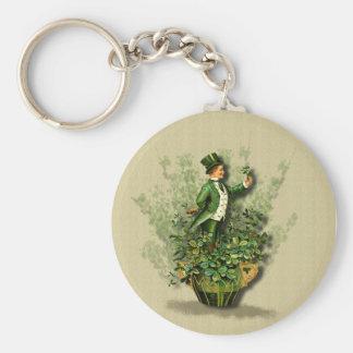 St. Patty's Day Gent- Irish Blessings- Keychain