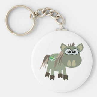 St Pattys Day Goofkins donkey Keychain