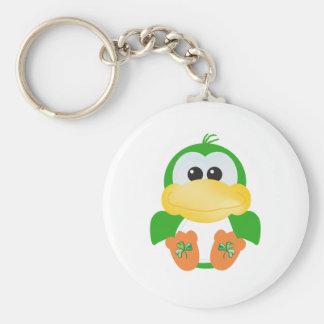 St Pattys Day Goofkins Duck Keychains