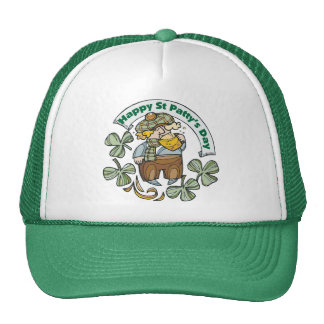 St Patty's Day Happy St. Paddy's Day Cap