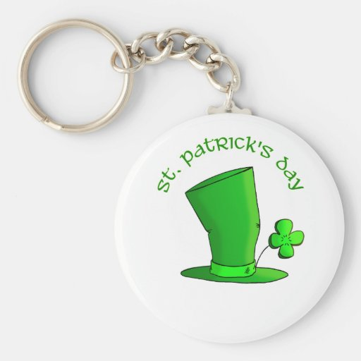 St Patty's Day Hat Key Chains