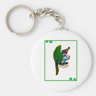 ST. PATTY'S DAY PARROT KEYCHAINS