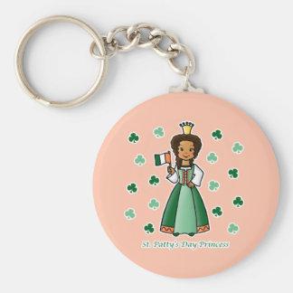 St. Patty's Day Princess Key Chain