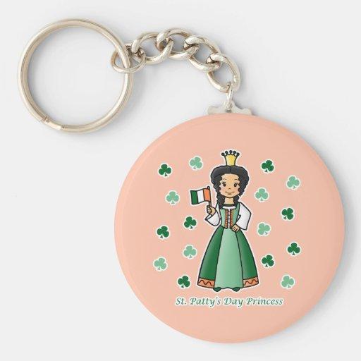 St. Patty's Day Princess Key Chains