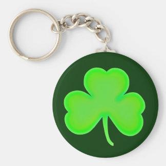 St Patty's Day Shamrock Key Chain