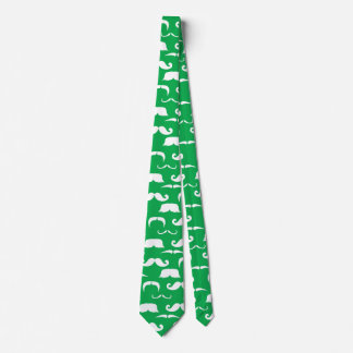 St. Patty's Moustache Tie