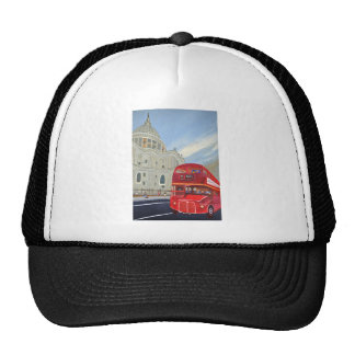 St.Paul Cathedral and London Bus Cap