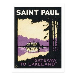 St. Paul Gateway to Lakeland Postcard