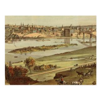 St. Paul, Minnesota Lithograph 2 Postcard
