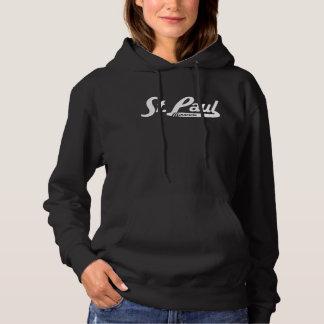 St. Paul Minnesota Vintage Logo Hoodie