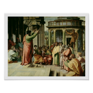 St. Paul Preaching at Athens (cartoon for the Sist Poster