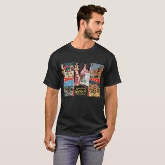 St. Pauli by Night, Hamburg, Germany Vintage T-Shirt