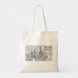 ST Pauls Budget Tote Bag