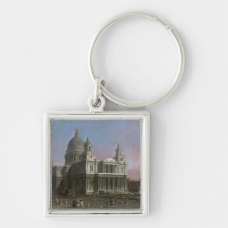 St. Paul's Cathedral, 1754 (oil on canvas) Key Ring