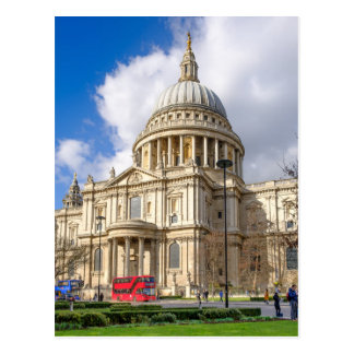 st Paul's Cathedral, London UK Postcard