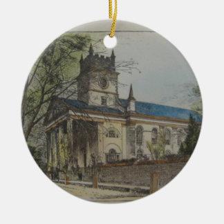 St. Paul's Episcopal Church, Charleston, SC Ceramic Ornament